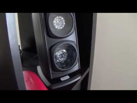 Talking About Watch Winders & A Review Of My Versa Diplomat Double Winder
