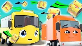Buster And The Boxes | Go Buster | +more Nursery Rhymes And Baby Songs |kids Son