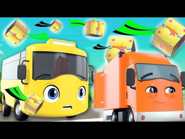 Buster and The Boxes   Go Buster   +More Nursery Rhymes and Baby Songs  Kids Songs   Little Baby Bum