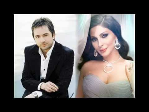 ديو إليسا و مروان خوري   شي إنكسر HQ