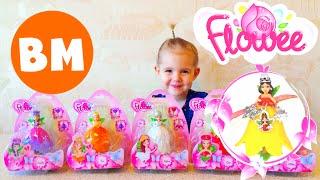 ВМ: Играем Волшебные Цветы-феи Флауи | Unboxing and palying Magic Flowee Simba Toys
