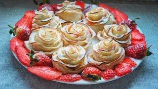 видео десерт из яблок