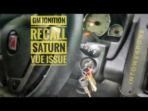 2014 GM Ignition Recall - 2004 Saturn Vue Problem