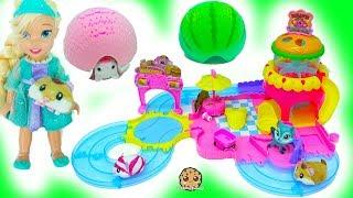 Disney Frozen Toddler Kids Queen Elsa, Princess Anna, Kristoff + Little Live Pet Animals Video