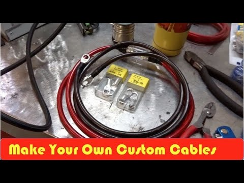 how to make battery cables