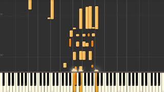 Bye Bye Blackbird - Jazz piano solo tutorial
