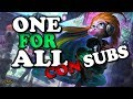 MIS SUBS SOLO ME TROLEAN ! ONE FOR ALL