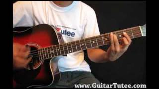 Keane - Somewhere Only We Know, by www.GuitarTutee.com
