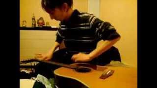 Август Раш - оригинальное исполнение на гитаре