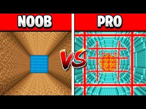 NOOB vs PRO CRAZY MINECRAFT DROPPER CHALLENGE! thumbnail