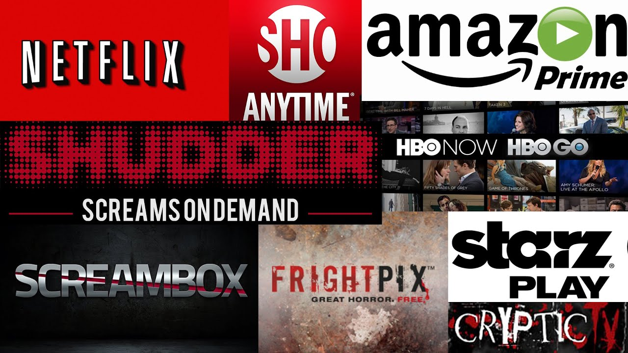 Which Streaming Service is the BEST for HORROR? | Netflix Amazon Shudder Screambox + FREE MOVIES