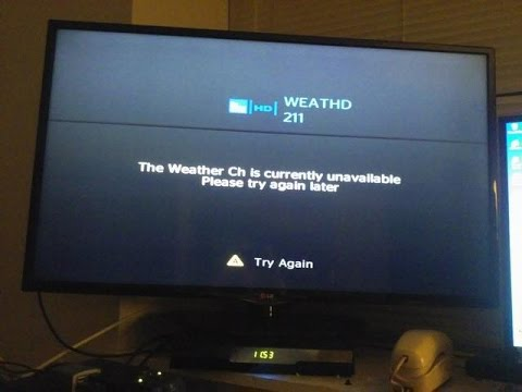 Time Warner Cable Weather Channel Unavailable Issue