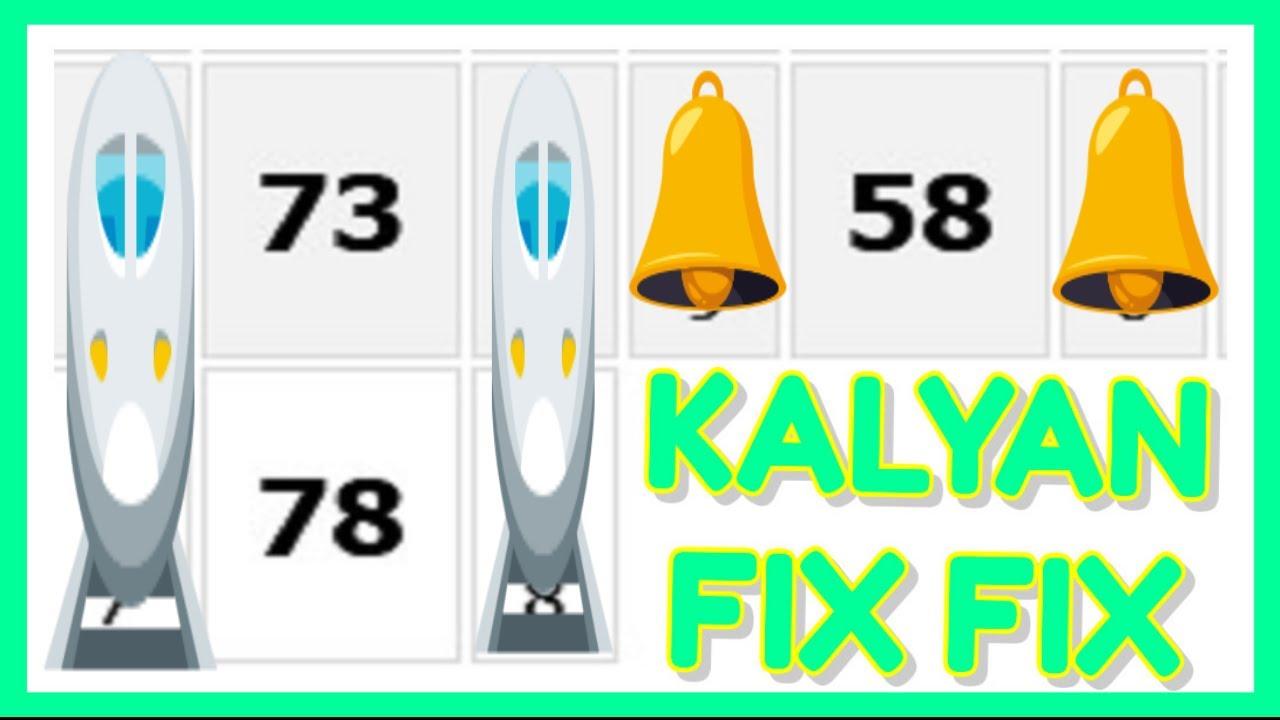 kalyan Single Jodi Trick Formula Date 15 10 2021 कौन बनेगा करोडपति Kaun Banega Crorepati