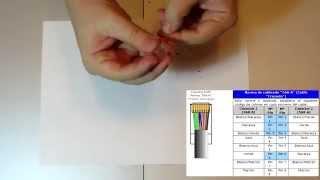 Como Hacer Un Cable de Red Cruzado RJ45 UTP