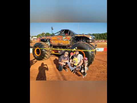 Monster Trucks Bad Company Dixie Speedway 50th Anniversary