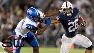 Todd McShay says Saquon Barkley is the most dynamic in 2018 NFL draft | SportsCenter | ESPN Free HD Video