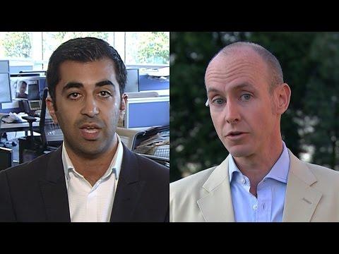 Humza Yousaf and Daniel Hannan on refugee crisis