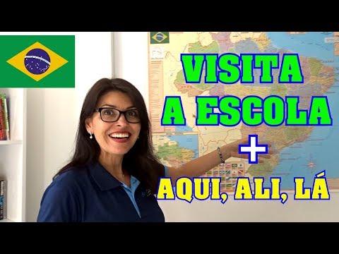 Português  AQUI ALI LÁ Vamos usar?