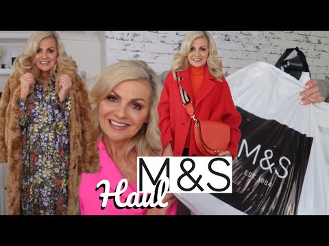 MARKS & SPENCER HAUL/M&S TRY ON/AUTUMN/WINTER 2019/FASHION FOR WOMEN/fabulous50s