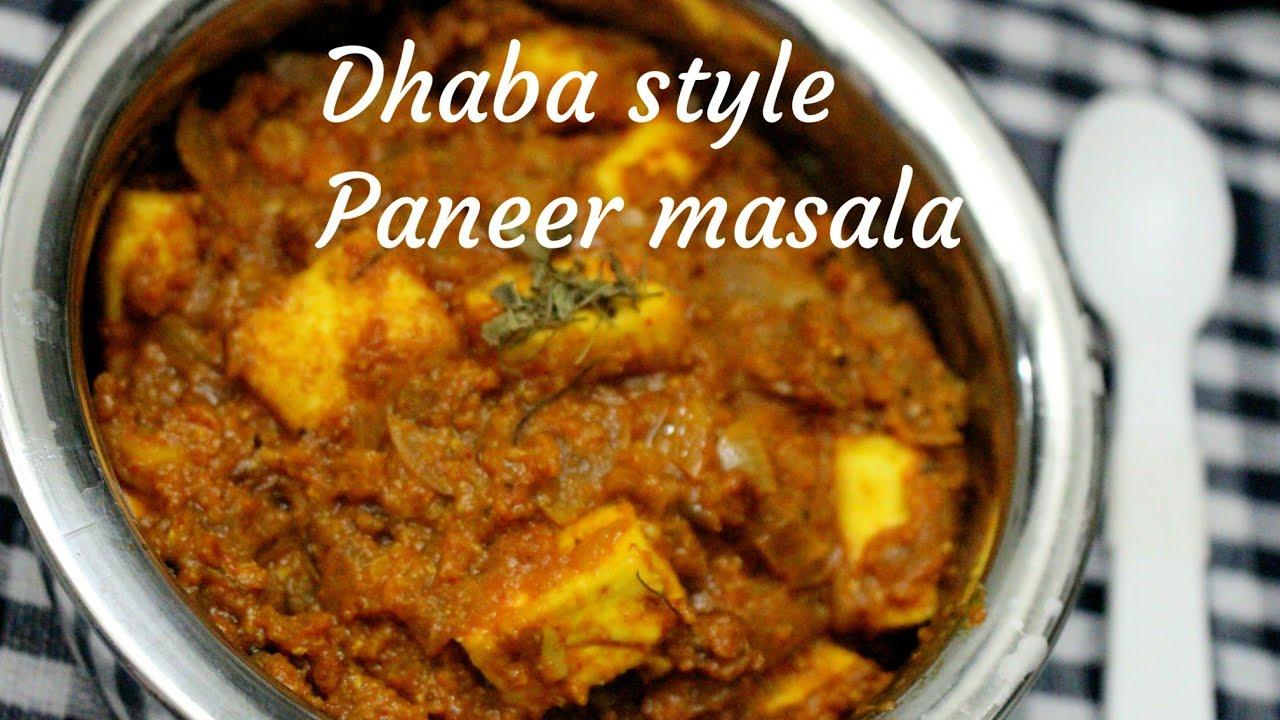 Paneer masala recipe dhaba style paneer masala paneer dhaba style