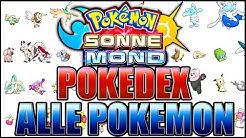 SPOILER! ALLE POKEMON, NEUE ALOLA FORMEN  Pokémon Sonne Pokémon Mond