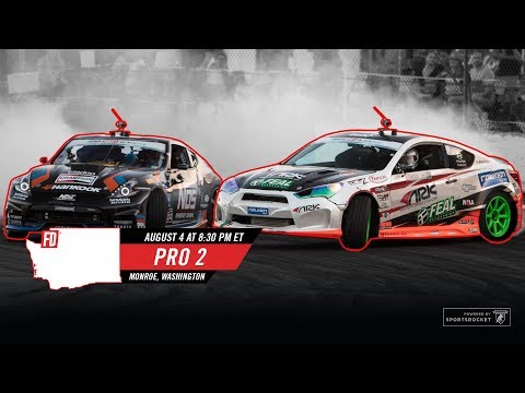 Network A Presents: Formula Drift Monroe - Pro 2 Final LIVE!