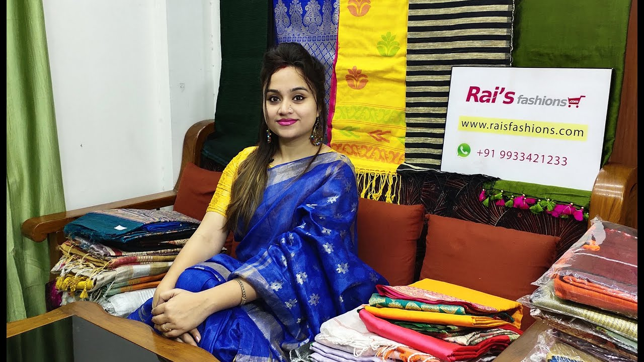 Stay In Style In Rai S Fashions Handloom Sarees 01st November 26c Youtube