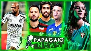 Diretoria vai atrás de um Camisa 10 | Nova Camisa do Palmeiras | Felipe Melo Suspenso | Valdívia e+