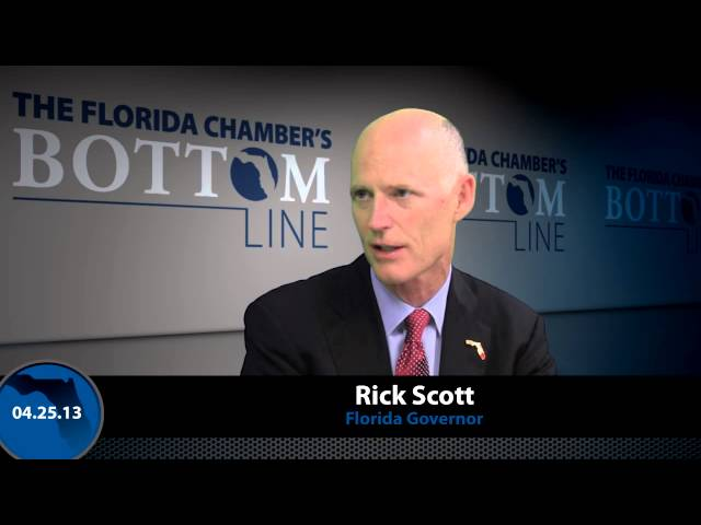 The Florida Chamber's Bottom Line With Governor Rick Scott