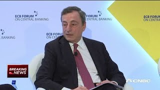 ECB's Draghi responds to Trump: 'We don't target the exchange rate'