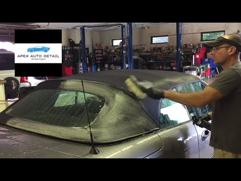The Best Care For Your Customer's Convertible Top!! Clean And Protect.