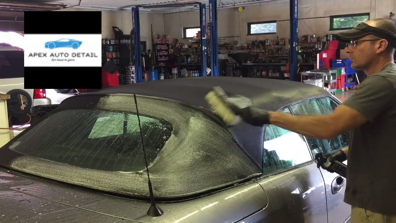 The Best Care For Your Customer S Convertible Top Clean And Protect