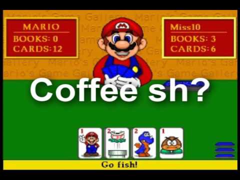 Mario Can't Play Go Fish