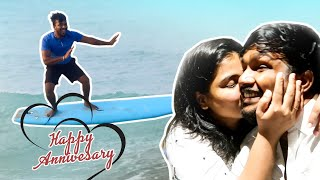 Giving Ram a beautiful Surprise | RJ anniversary Celebration