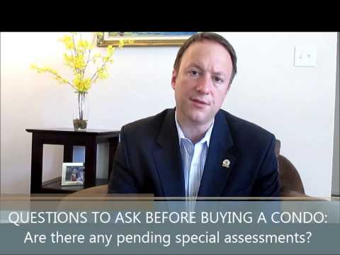 #4 Questions You Must Ask Before Buying a Condo: Are there any pending special assessments?
