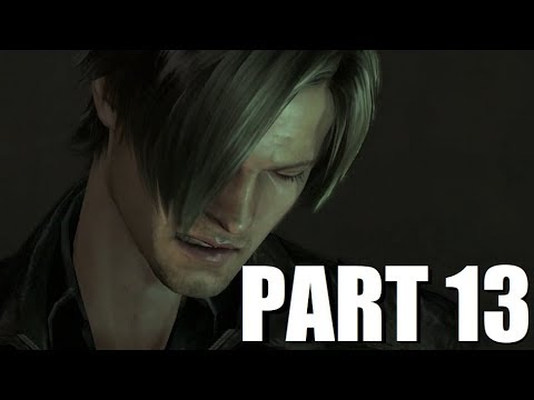 Let's Play Resident Evil 6 Co-op - Leon #13 - Jack Gets Bored