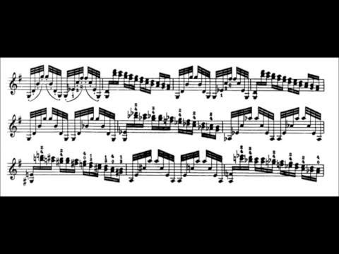 Niccolò Paganini - Caprice for Solo Violin, Op. 1 No. 1 (Sheet Music)