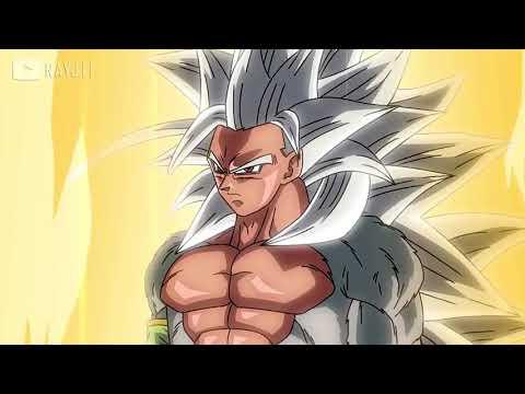 ドラゴンボール - 悟空の超サイヤ人5変身シーン   Goku Super Saiyan 5 Transform Scene