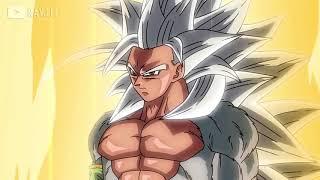 ドラゴンボール - 悟空の超サイヤ人5変身シーン | Goku Super Saiyan 5 Transform Scene