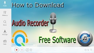 How to Download Audio Recorder and How to Use Streaming Audio Recorder Free Software Tutorial
