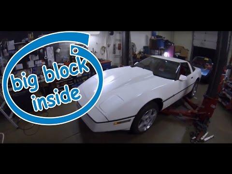 "Garage Day: Big Block Corvette ""454 C4"" Start up and exhaust sound."