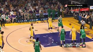 NBA 2K15 - Celtics vs Lakers
