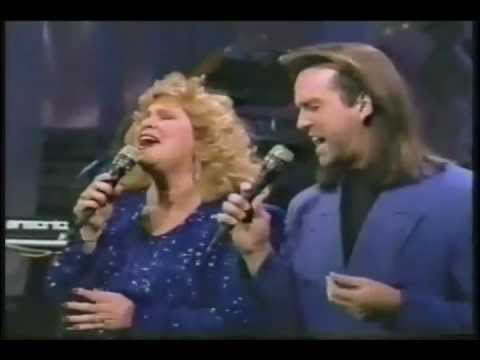 """""""Another Time, Another Place"""" by Sandi Patty & Wayne Watson on The Tonight Show With Johnny Carson"""