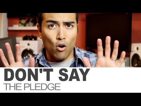 Don't Say The Pledge.  Here's why ...