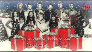 Glee Cast - God Rest Ye Merry Gentlemen (Deutsche Übersetzung/German Translation) ll HD/HQ