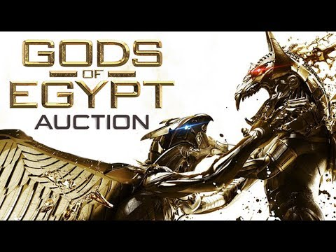 Gods of Egypt Auction - Original Movie Props and Costumes