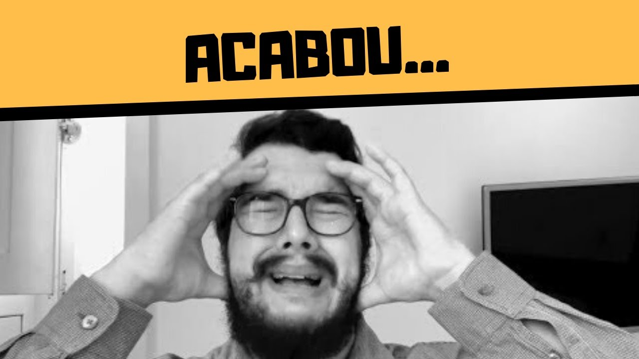 ACABOU O CANAL... DO BERNARDO!