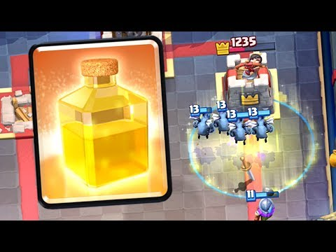 Clash Royale - HEAL SPELL UPGRADE! Amazing Heal Deck