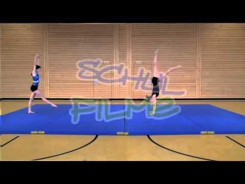 Schulfilme Im Netz Dvd Sport Bodenturnen Handstand Youtube
