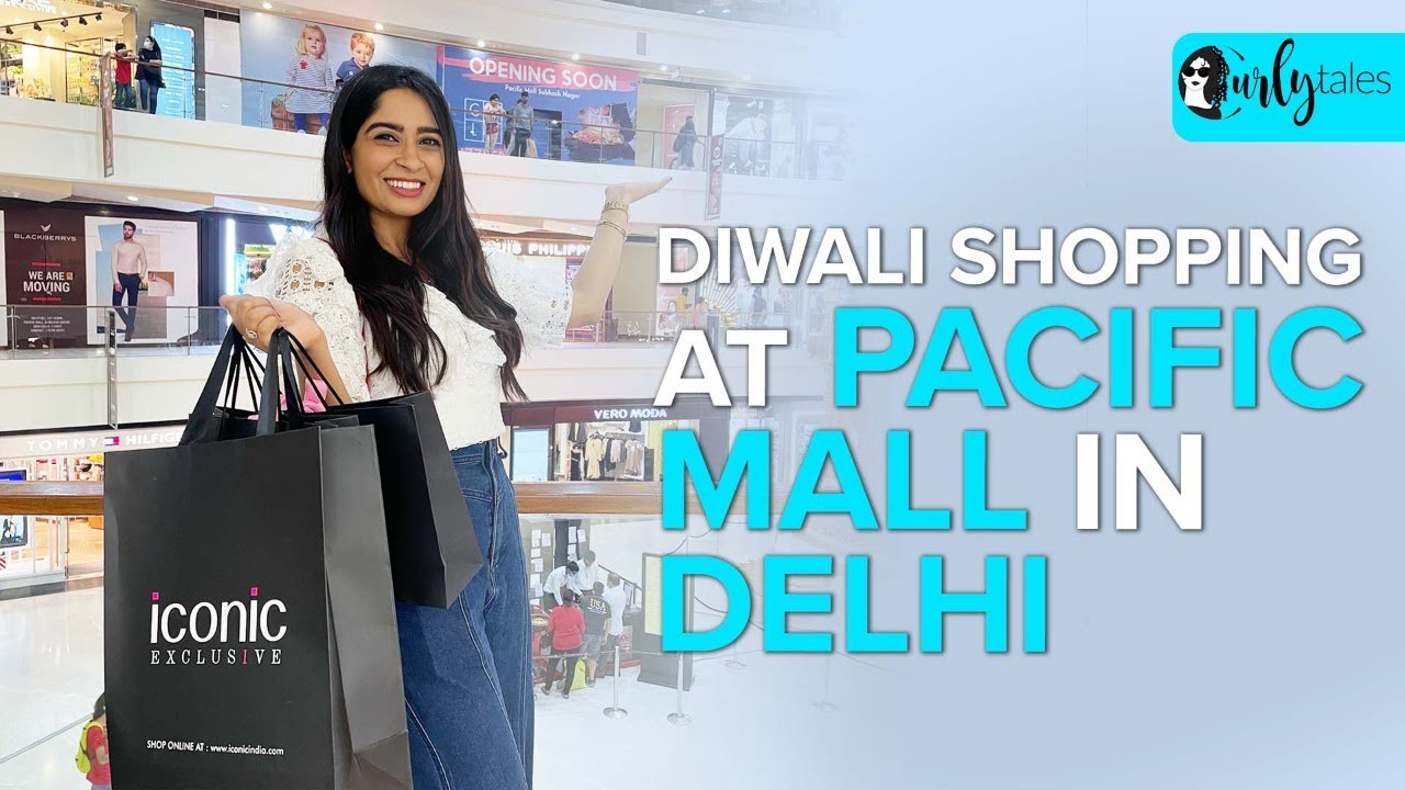 We Went Diwali Shopping To Pacific Mall In Delhi & Got A Diamond Pendant   Curly Tales